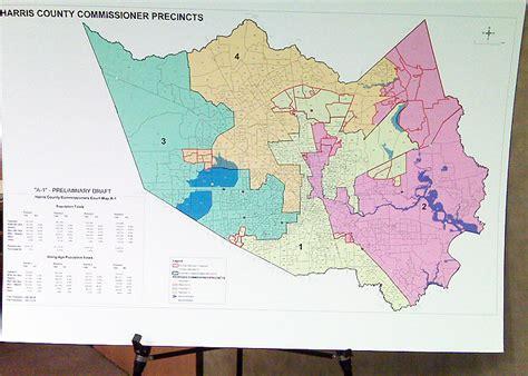 texas voting precincts map harris county precinct map my