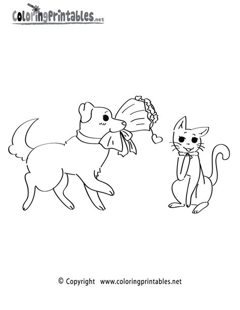 valentine dog coloring page candy cane color worksheet new calendar template site