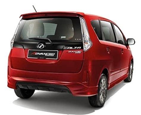 Cermin Belakang Alza harga dan spesifikasi perodua alza 2014 baru