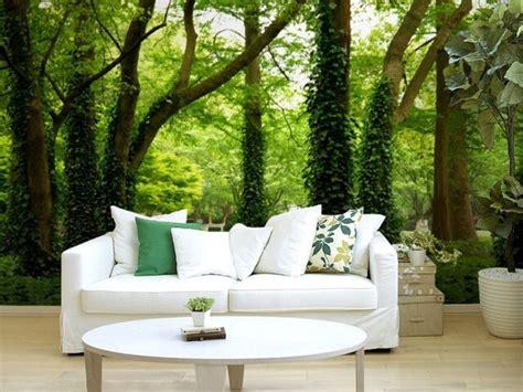 Living Room Wallpaper For Sale Sale 3d Stereo Forest Trees Living Room Sofa Tv