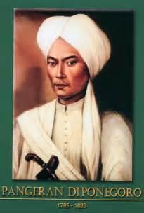 gambar foto pahlawan nasional indonesia gambar pangeran diponegoro 1785 1855