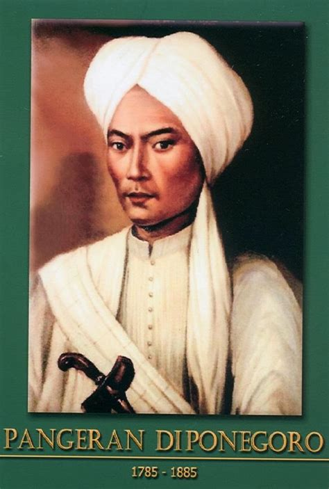 biografi pahlawan pangeran diponegoro singkat gambar foto pahlawan nasional indonesia gambar pangeran