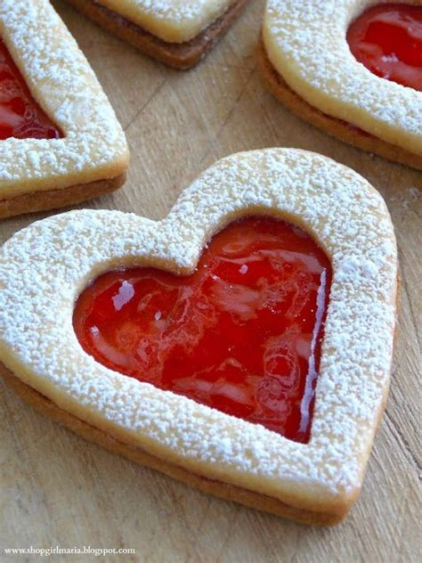 valentines day cookie recipe linzer cookies recipe dishmaps