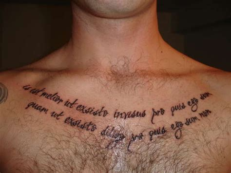 chest tattoo latin latin quotes for tattoos translated image quotes at