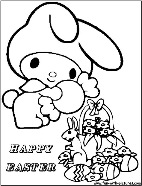 coloring pages hello easter hellokitty easter coloring page hello