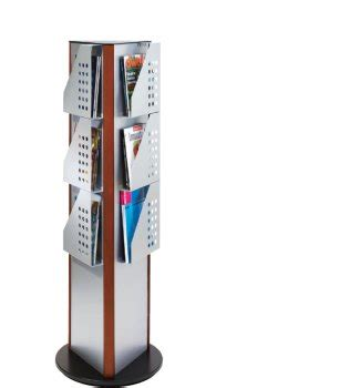 Rotating Magazine Rack by Rotating Magazine Rack 9 Pockets