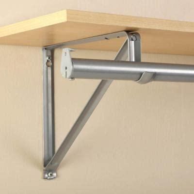 Sterling Closet Rod by Upc 077355080278 Closet Pro 10 3 4 In Platinum Shelf And Rod Bracket Rp 0045 Pm Upcitemdb