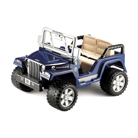 Motorized Jeep For Power Wheels Rubicon Jeep Wrangler Toys Ride