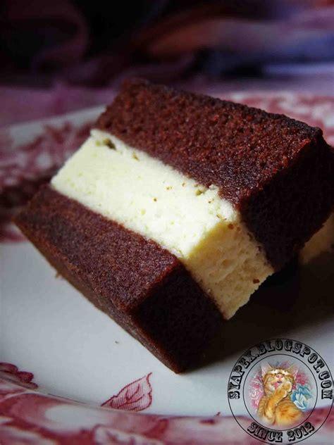 Kek Lapis Kukus Cheese Syapex Kitchen Kek Coklat Kukus Lapis Cheese