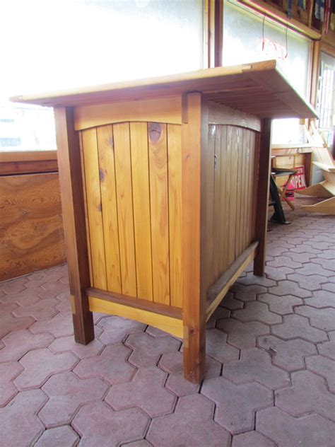 Outdoor Cedar Bar Stools by Outdoor Cedar Bar By Jcmeyersiv Lumberjocks