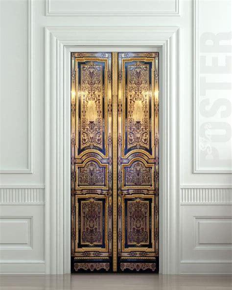 door wall stickers door sticker baroque house enter doors mural decole by