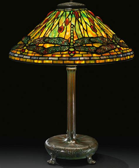 Next Table Lamps by Tiffany Dragonfly Sothebys Philip Chasen Antiques