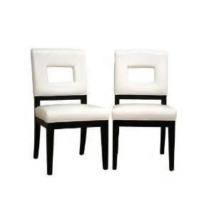 White Leather Dining Room Set by Furniture Gt Dining Room Furniture Gt Dining Chair Gt White