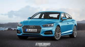 Audi Sport Convertible 2017 Audi A5 Sportback And Convertible Will Look Like This