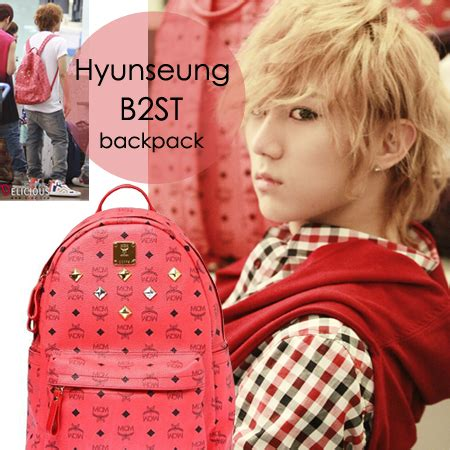 Po Custom The Beast For Iphonesamsungoppoasus Dll limon kpop shop tas hyunseung beast mcm backpack