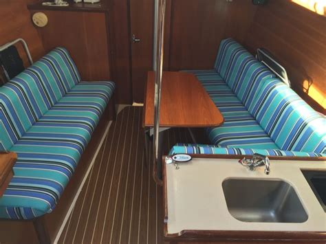 sailboat upholstery fabric 155 best images about sailboat interior pins on pinterest