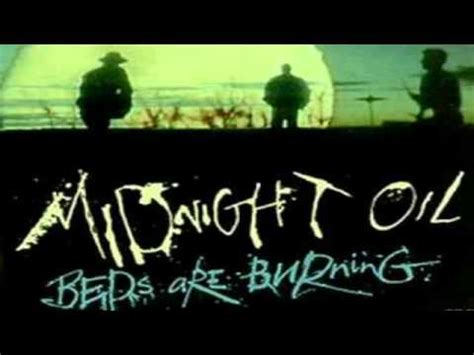 midnight oil beds are burning midnight oil beds are burning youtube