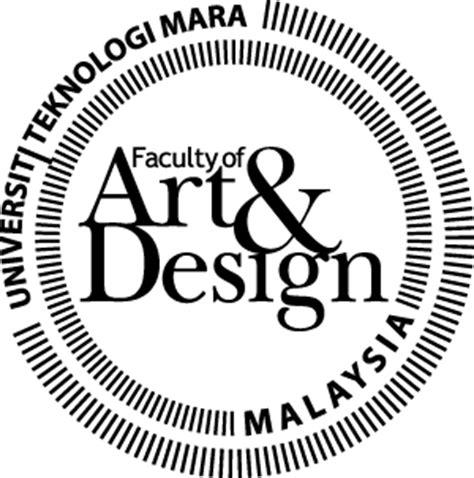 art design uitm vectorise logo faculty of art design uitm