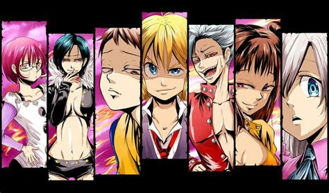 Anime 7 Deadly Sins Season 3 by Review Seven Deadly Sins Geeks