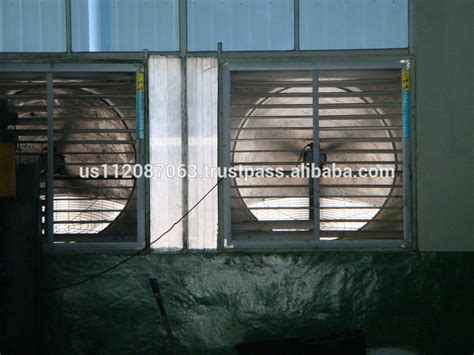 warehouse exhaust fan installation big airflow industrial exhaust fan ventilation exhaust