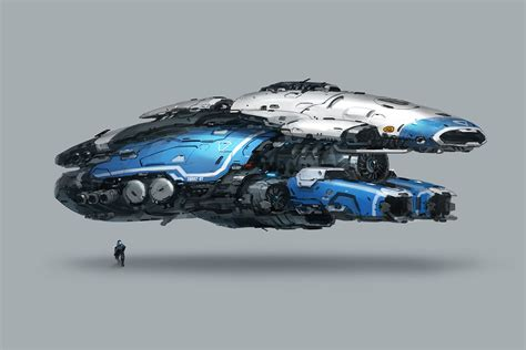 sw man jet boat artstation vehicle concept j c park