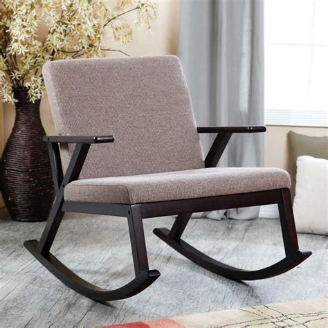 Modern Rocking Chair For Nursery Homesfeed Nursery Wooden Rocking Chair