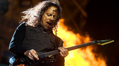 kirk hammett quote of the day kirk hammett s backlog of riffs yell