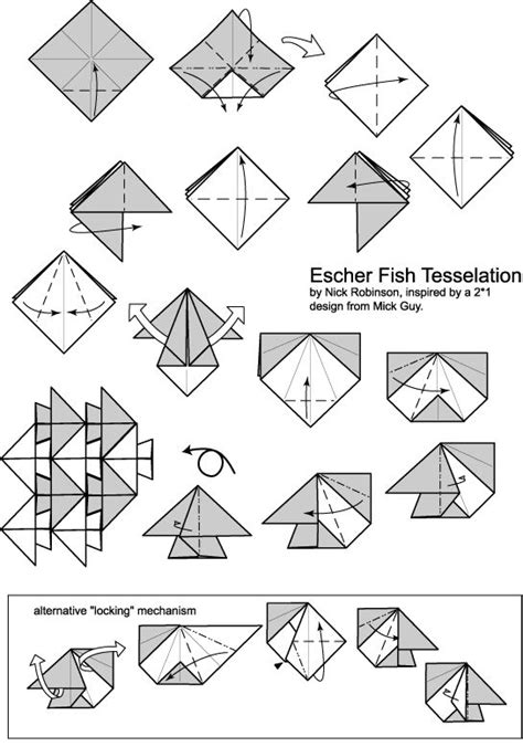 Origami Tessellation Diagrams - 332 best images about origami paper on