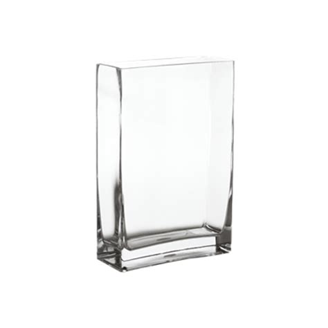 Rectangular Vases Cheap by Wholesale Rectangular Vase Clear 12 Quot H X 8 Quot W X 3 15 Quot L