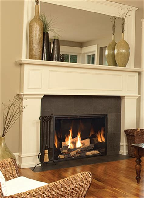 Luxury Gas Fireplace by Luxury Fireplaces Florida Fireplace Systems