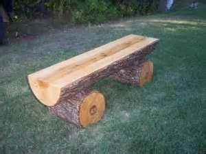 Log Benches How To Build Pinterest The World S Catalog Of Ideas