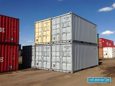 20 shipping containers at the tsl terminal in denver colorado cargo containers shipping