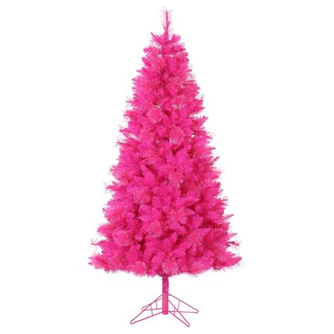 6 5ft pink cashmere tree with 400 clear lights