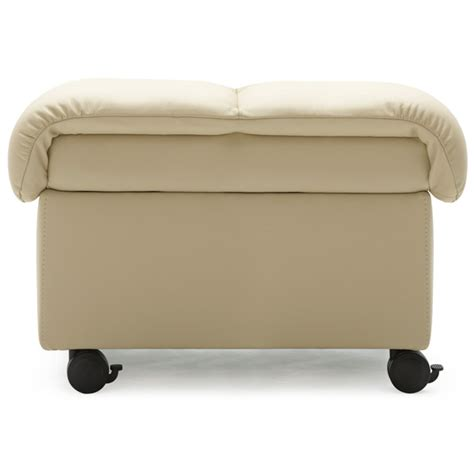 Soft Leather Ottoman The Stressless Soft Ottoman Ottomans Stools And