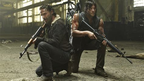 andrew lincoln burrow amc are hungry for more as the walking dead is renewed