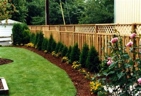 backyard fence design garden fence ideas design perfect home and garden design