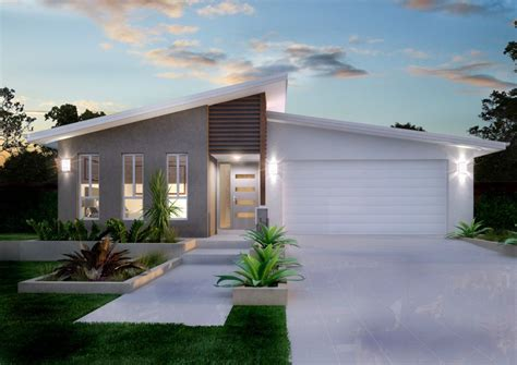 modern design home outdoor modern white house feats skillion roof also