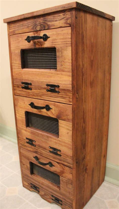 Potato And Storage Cabinet by Vegetable Bin Potato Storage Rustic Cupboard Primitive Kitchen