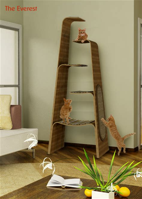 5 stylish modern cat trees for design lovers spaces for pets inside homes