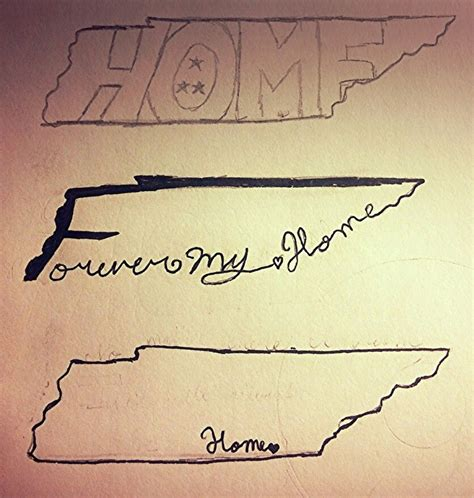 tennessee tattoos designs a of tennessee ideas i drew the other day