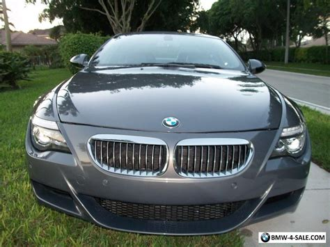 2010 bmw m6 for sale 2010 bmw m6 m6 for sale in united states