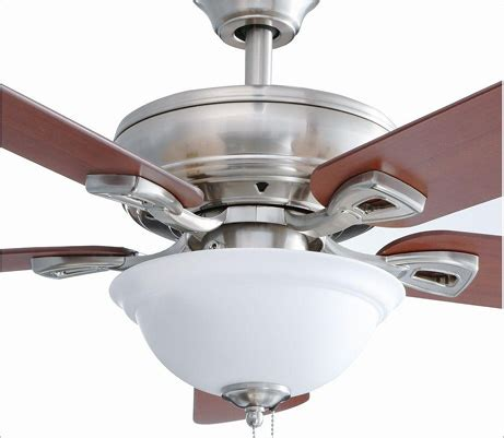 hton bay brushed nickel ceiling fan hton bay ceiling fan downrod hton bay futura eco 52 in