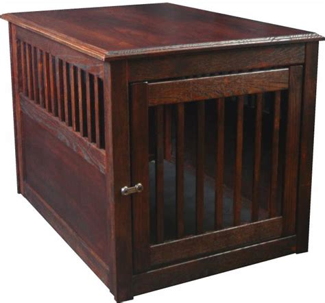 large kennel table kennel deck crates dynamic accents large oak end