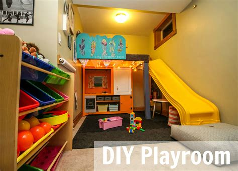 playroom ideas for small spaces diy playroom the big reveal amy allender dot com