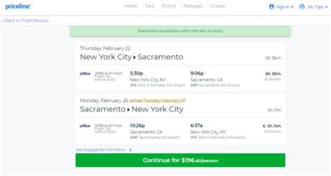 the flight deal jetblue 197 new york sacramento california and vice versa roundtrip