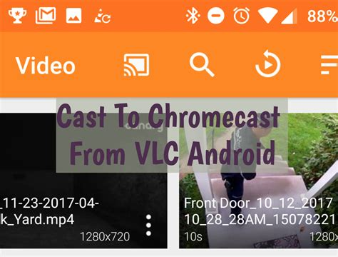 vlc android chromecast cast to chromecast from vlc android tutorial techbeasts