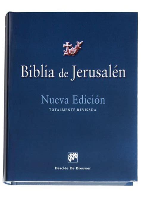 biblia de jerusal 233 n manual 4 170 edici 243 n modelo 1 descl 233 e de brouwer