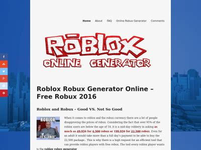 Robux Mba by Robuxgenerator Ml Site Ranking History