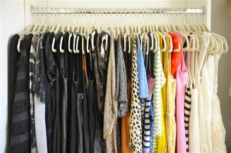 Color Organized Closet by Learn To Your Closet Big Or Small