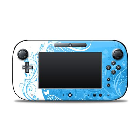 Project Design Cover For Nintendo Wii U Gamepad blue crush nintendo wii u controller skin covers